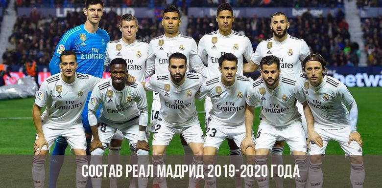 Реал мадрид new состав команды